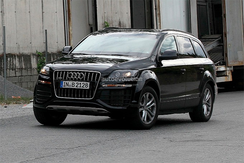 2015 Audi Q7 Test Mule at the Atlantic Auto Group